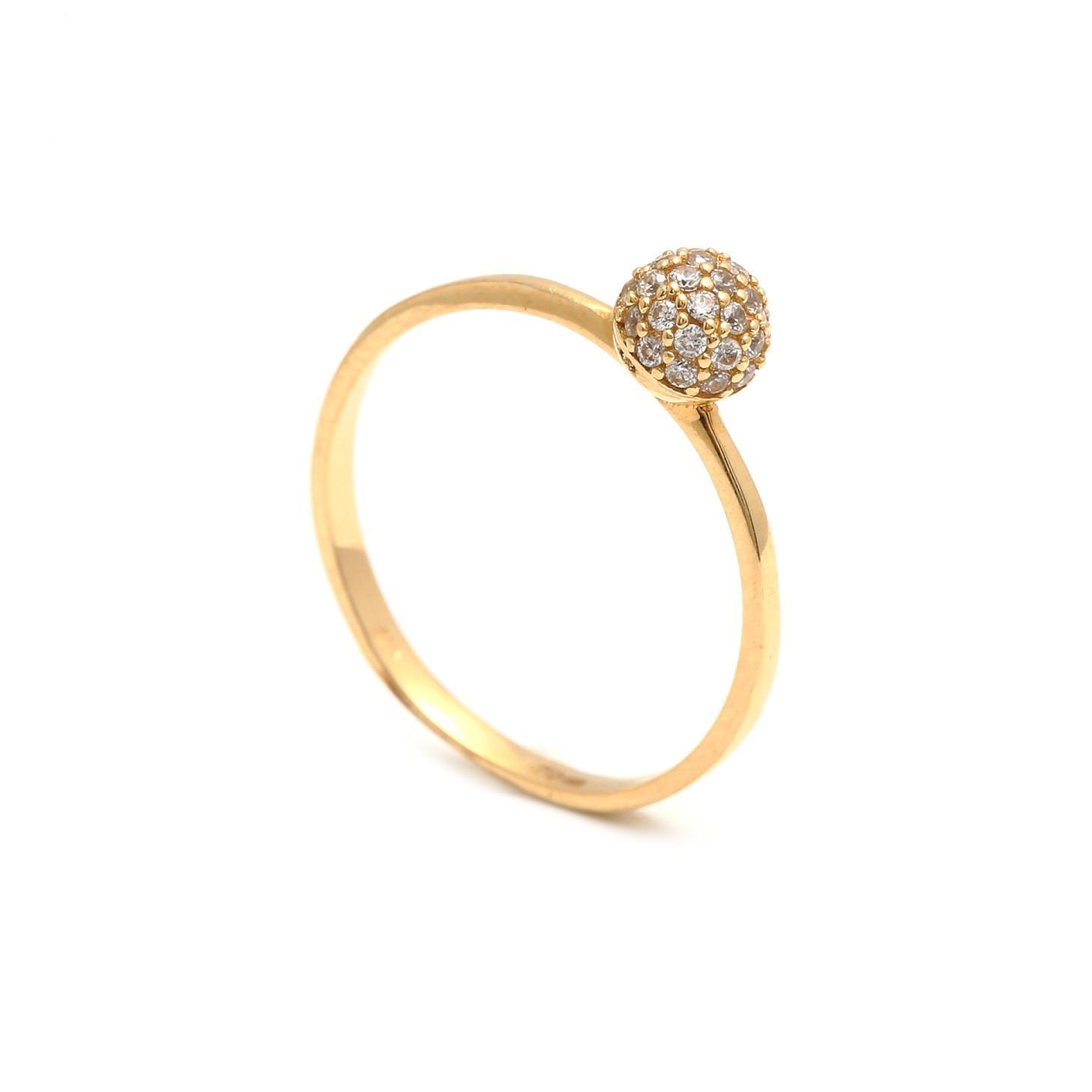 Zlatý dámsky prsteň SAVERIA