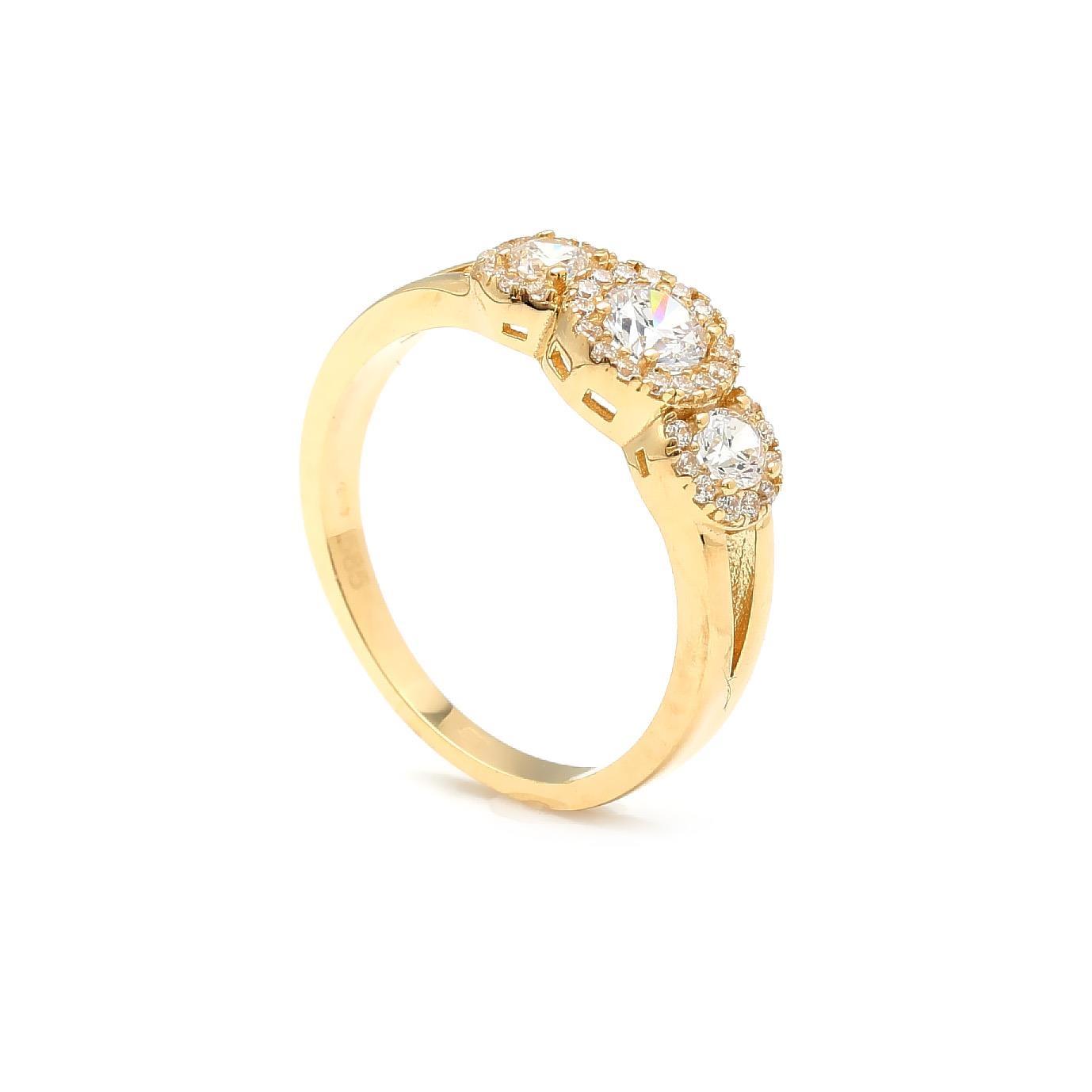 Zlatý dámsky prsteň TARJA