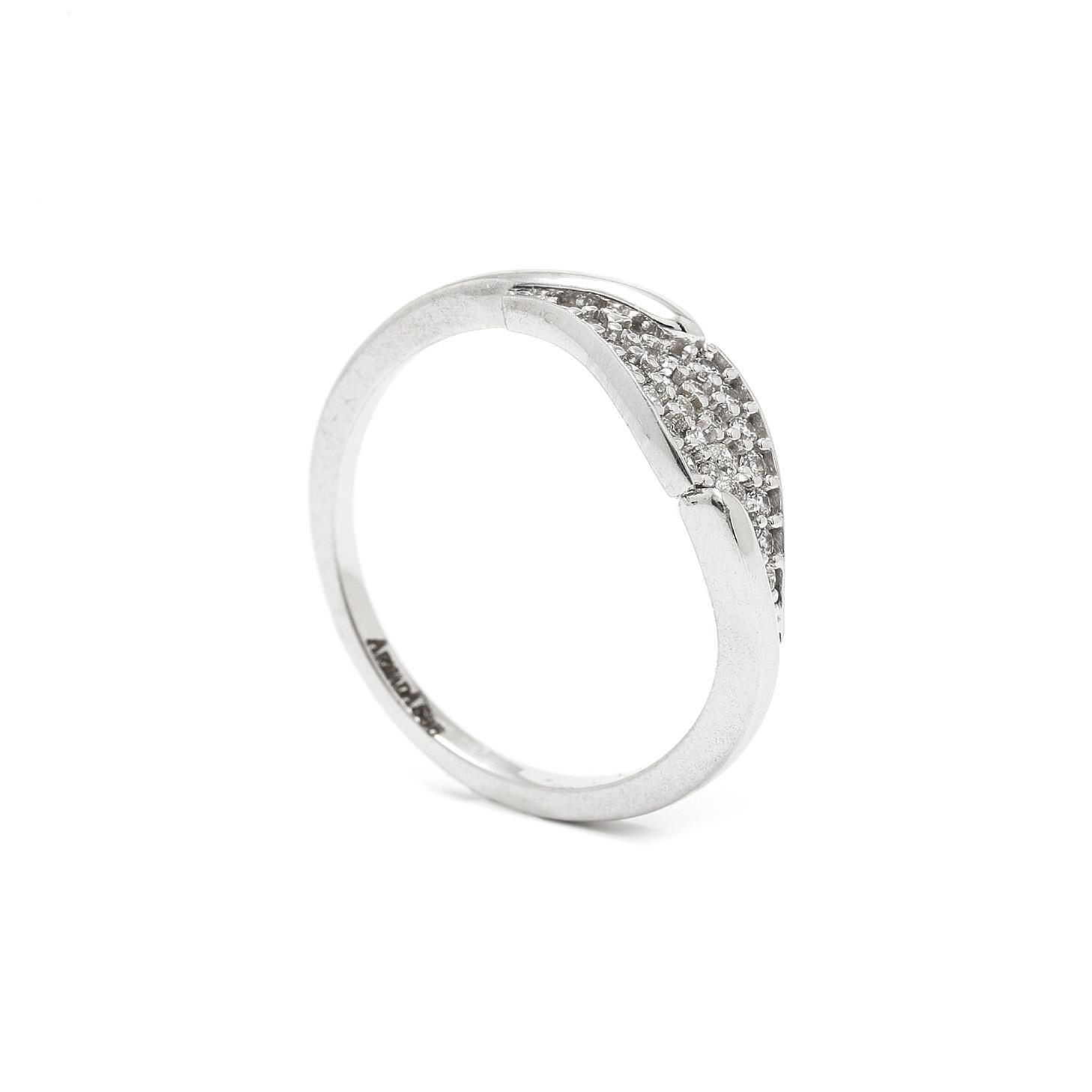 Zlatý dámsky prsteň VYVIAN