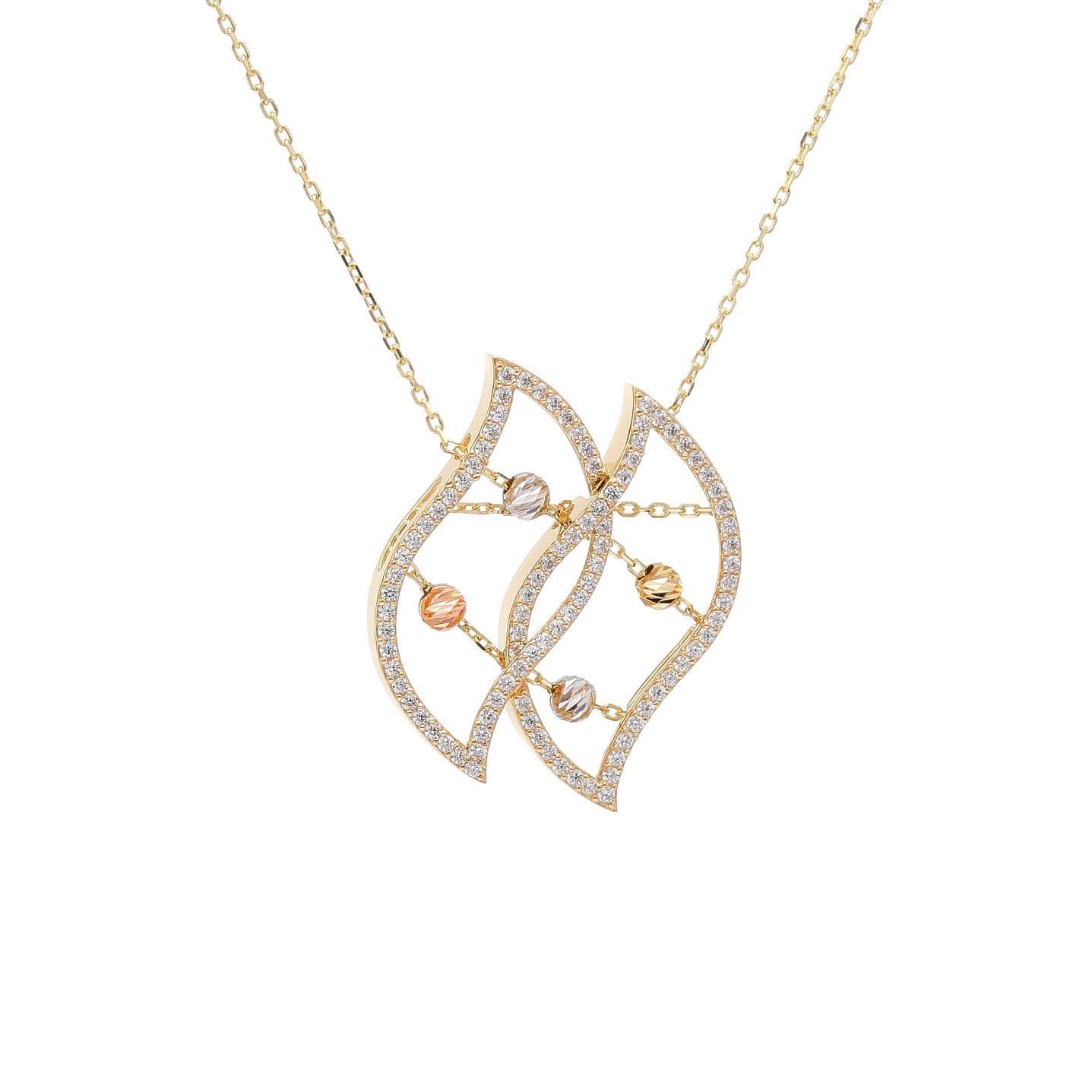 Zlatý náhrdelník ACHILLE