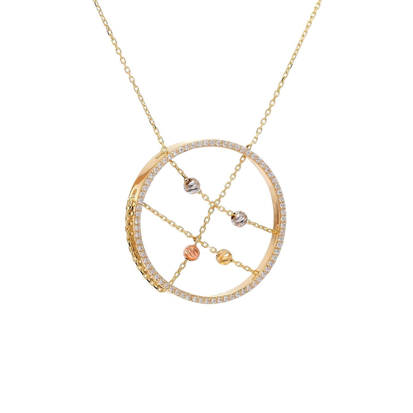 Zlatý náhrdelník ADAMO 1