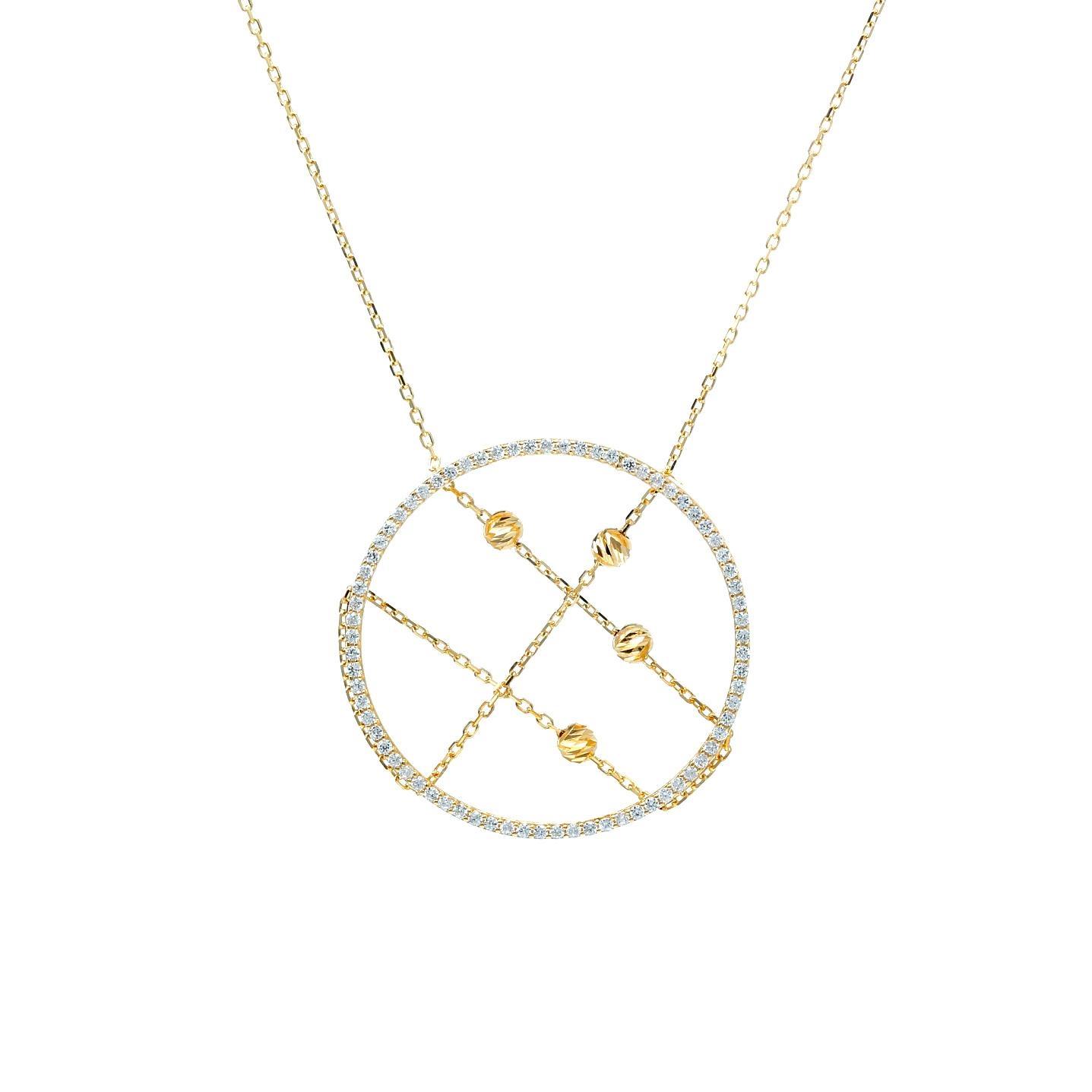 Zlatý náhrdelník ADAMO
