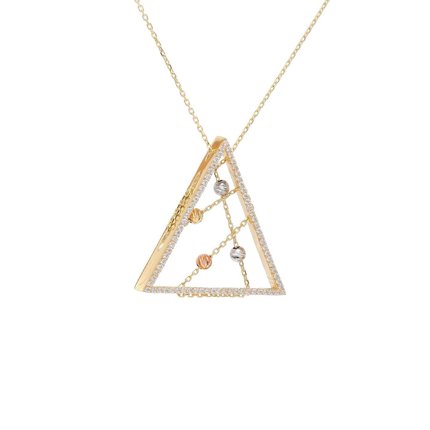 Zlatý náhrdelník ADONE