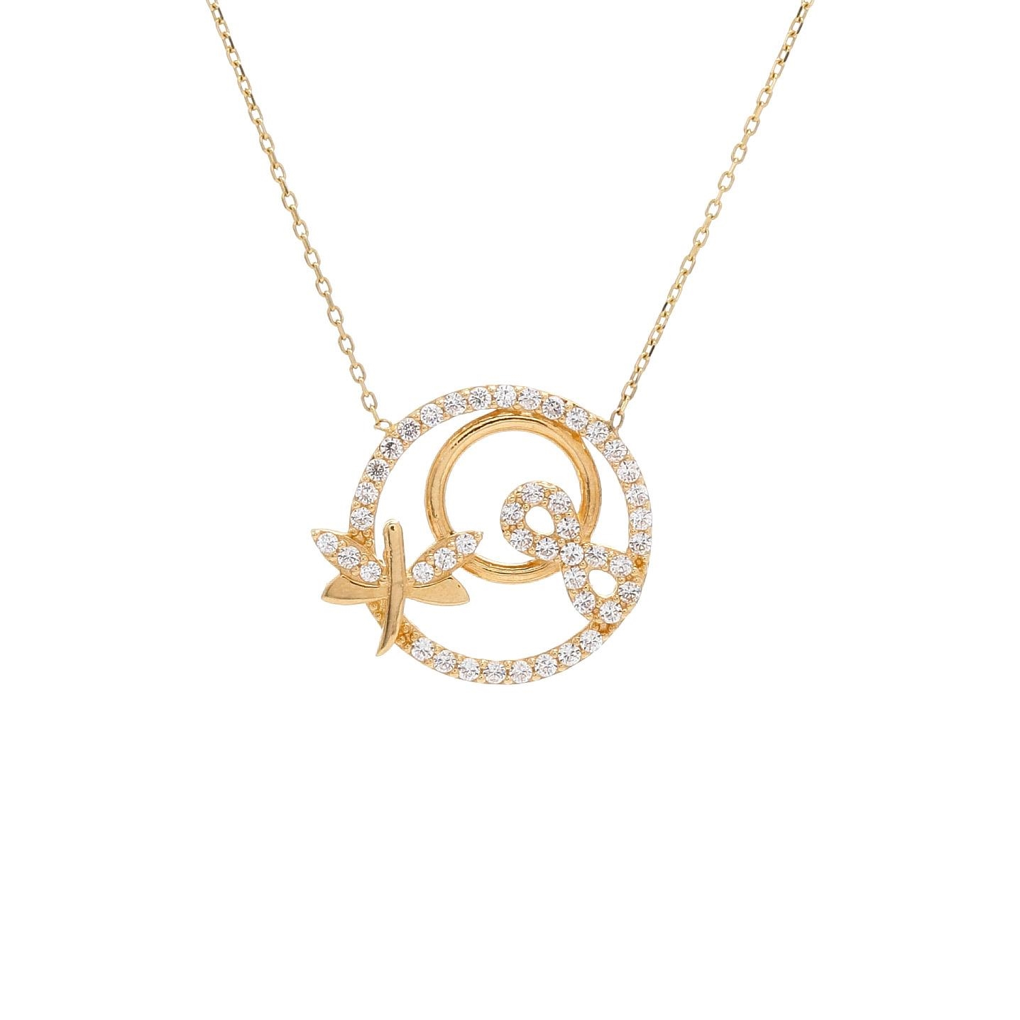 Zlatý náhrdelník COZAMALOT