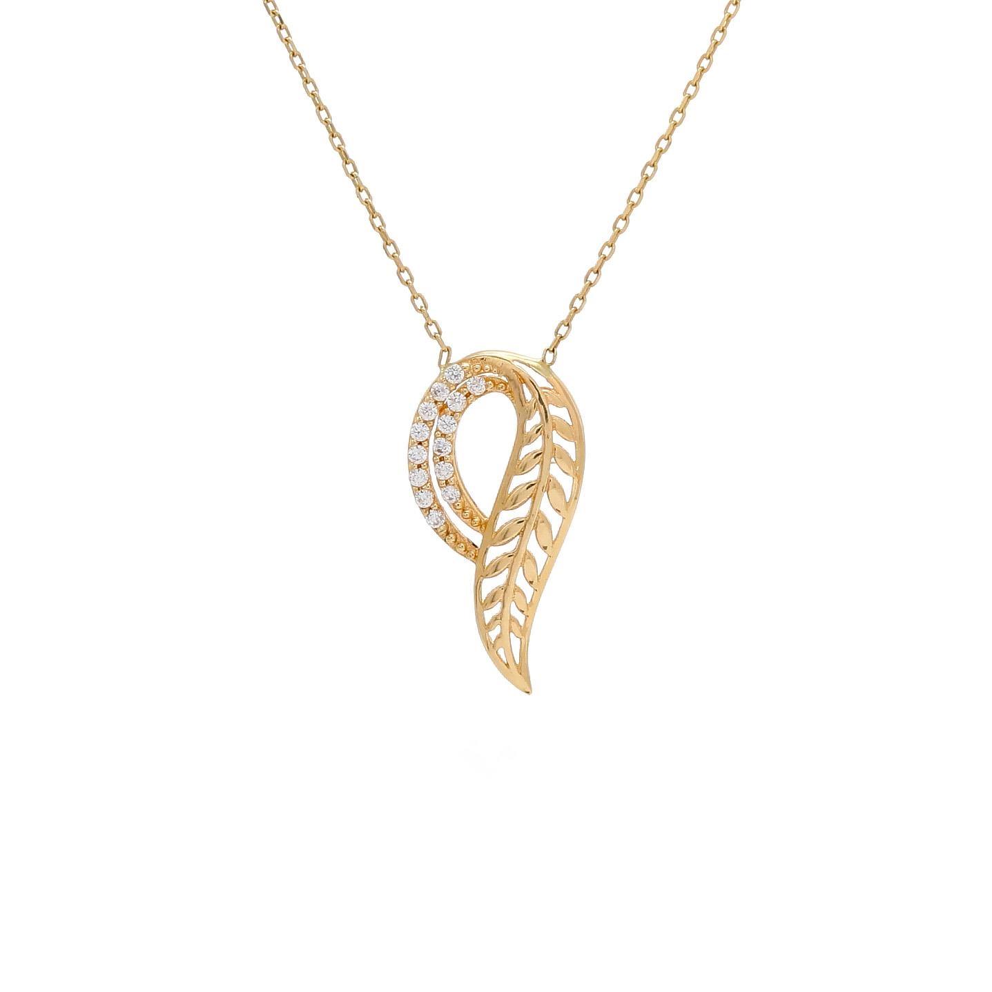 Zlatý náhrdelník LOTUS