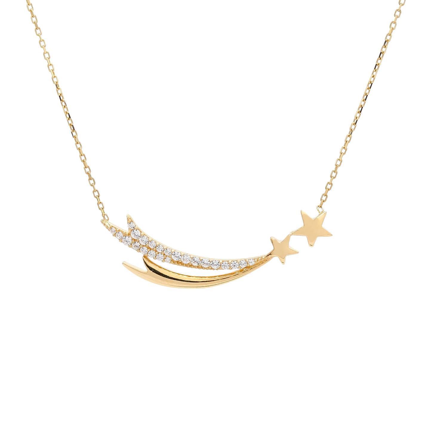Zlatý náhrdelník LOURDES