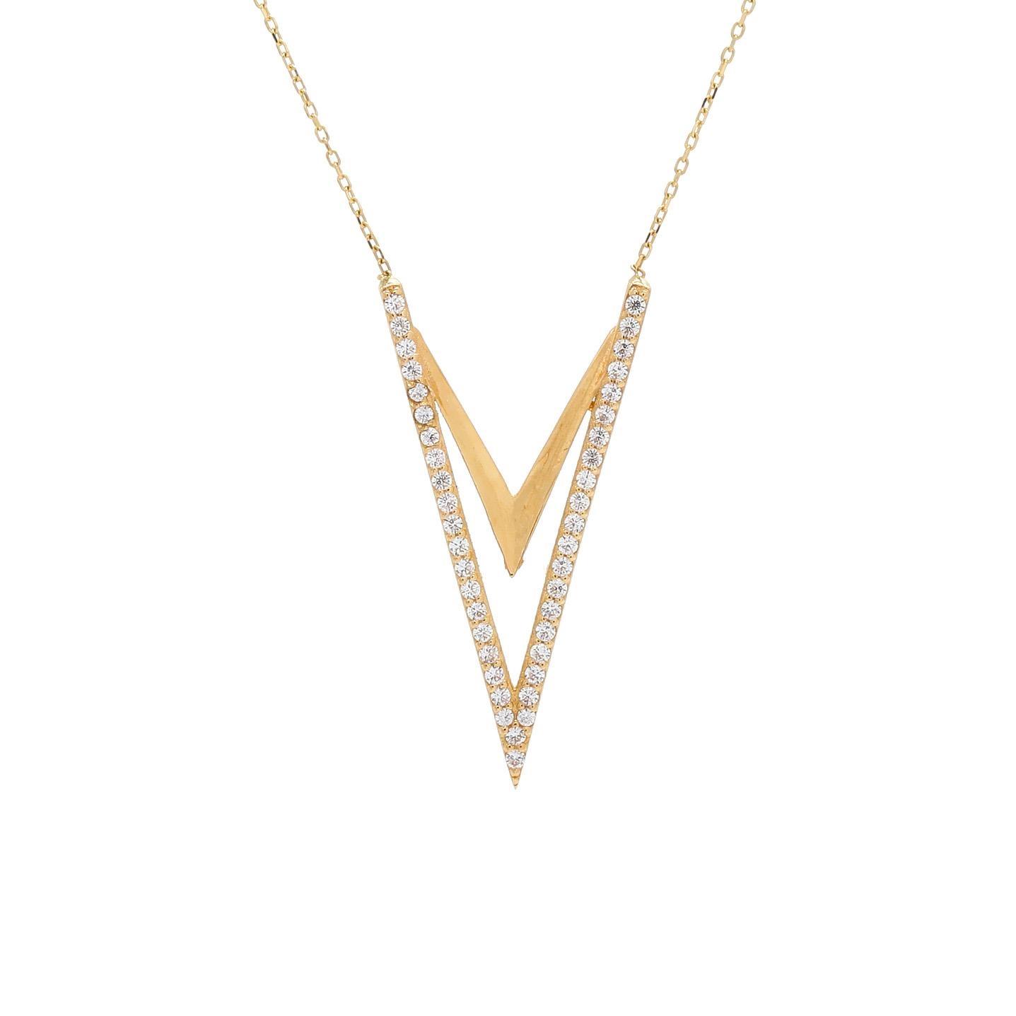 Zlatý náhrdelník OSTADAR