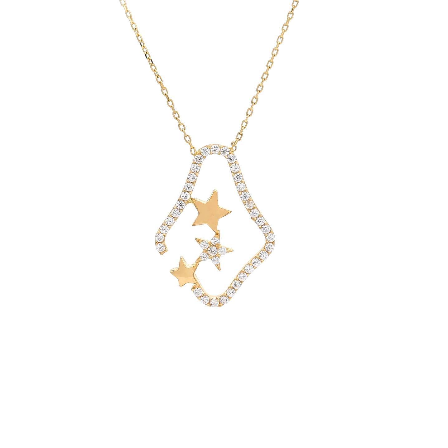 Zlatý náhrdelník SIGRUN