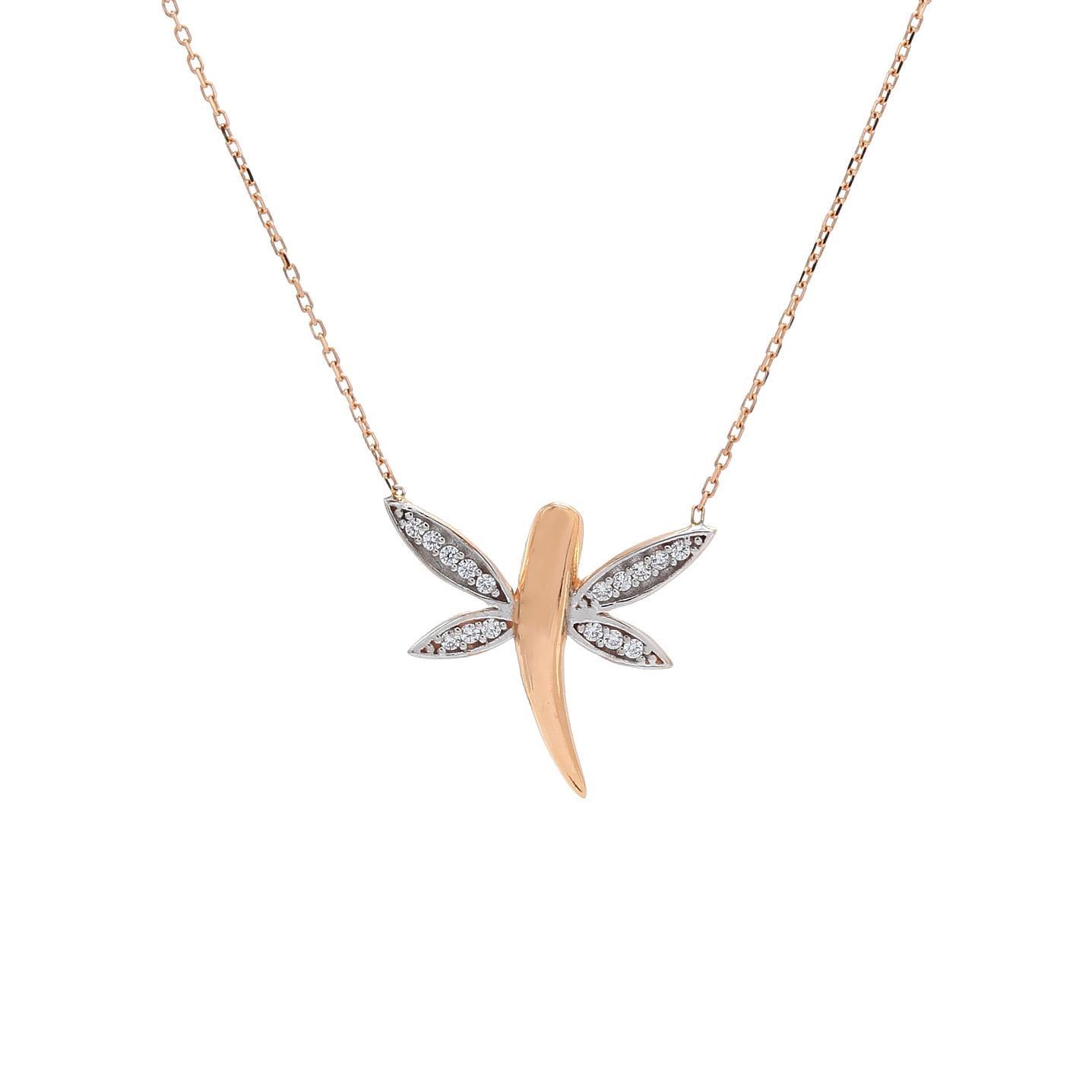 Zlatý náhrdelník VERMIN