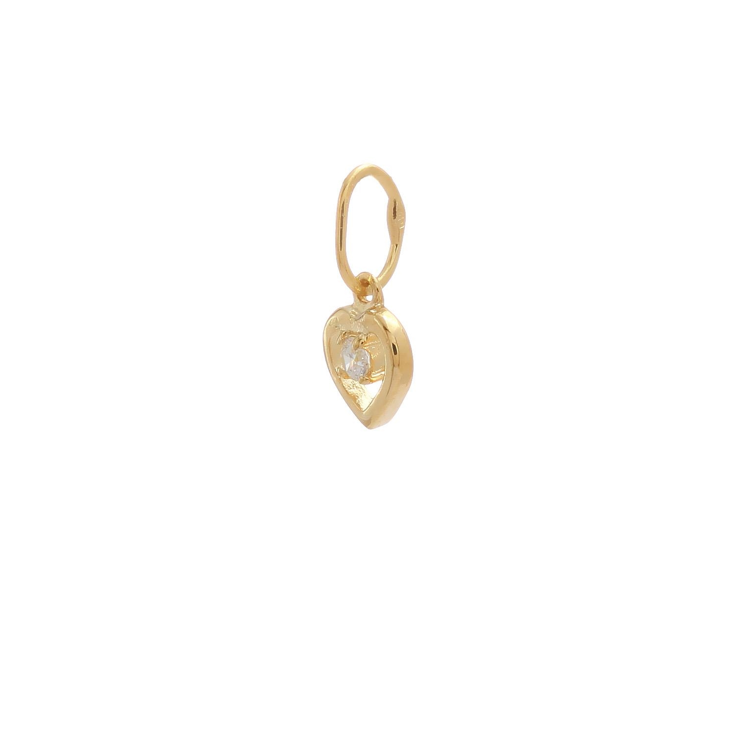 zlatý prívesok srdiečko so zirkónom zlatý prívesok srdiečko so zirkónom 1  ... 1a32a0d671c