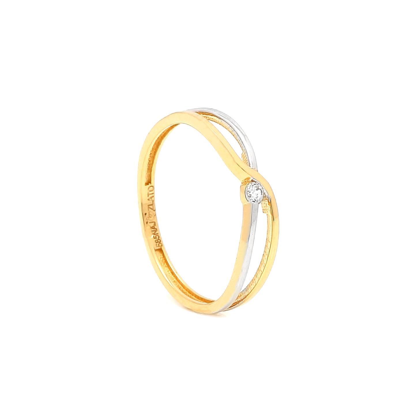 Zlatý prsteň MONICA