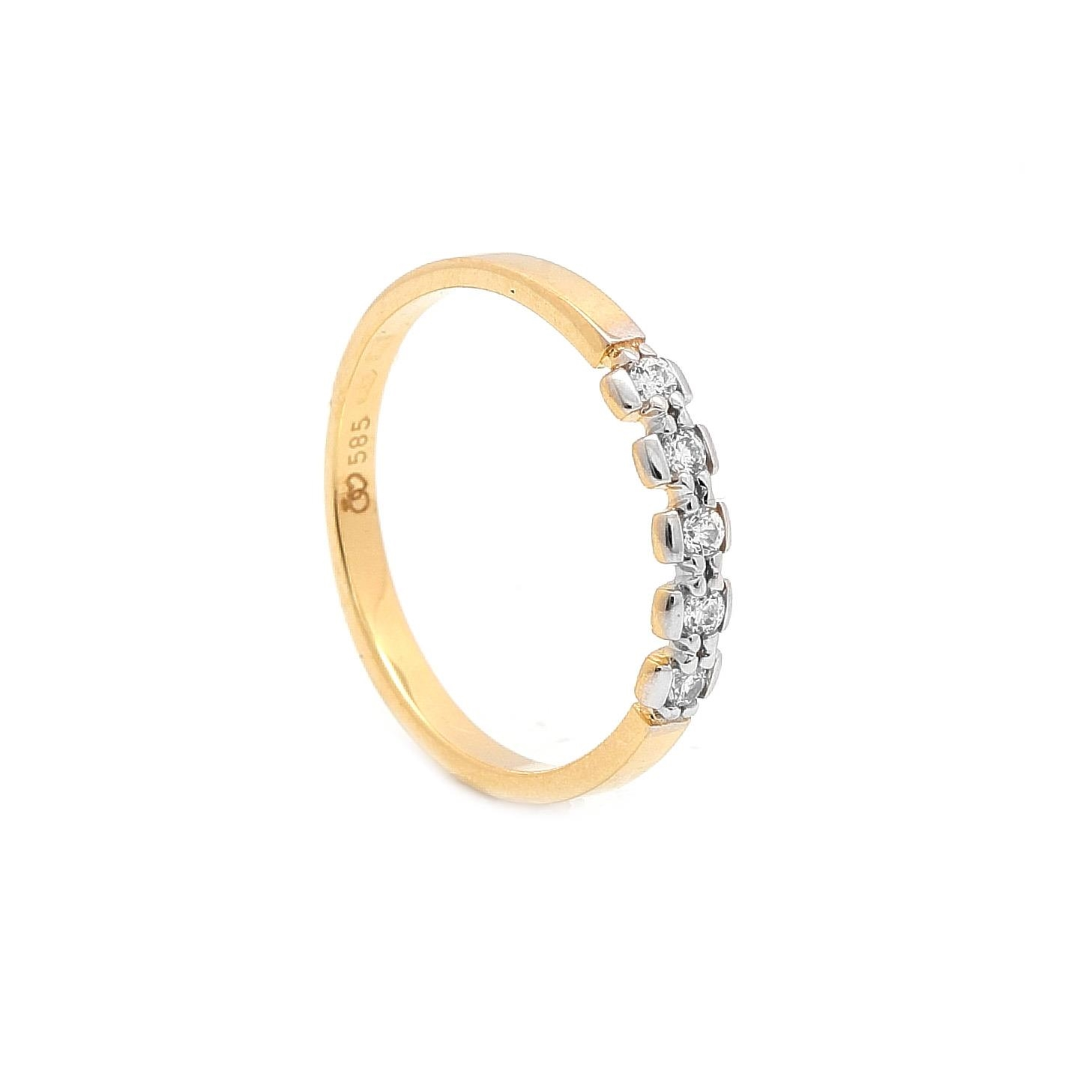 Zlatý prsteň VICTOIRE