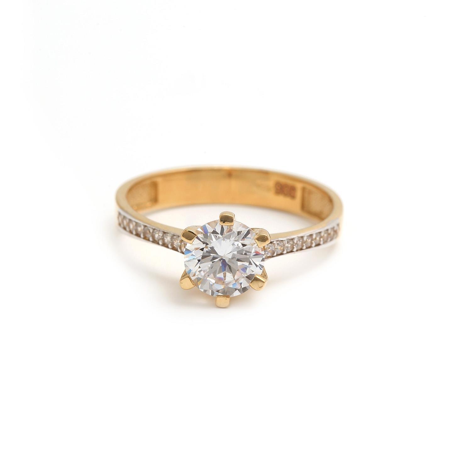 zlatý zásnubný prsteň azucena zlatý zásnubný prsteň azucena 1 ... 1f48d87f8cc