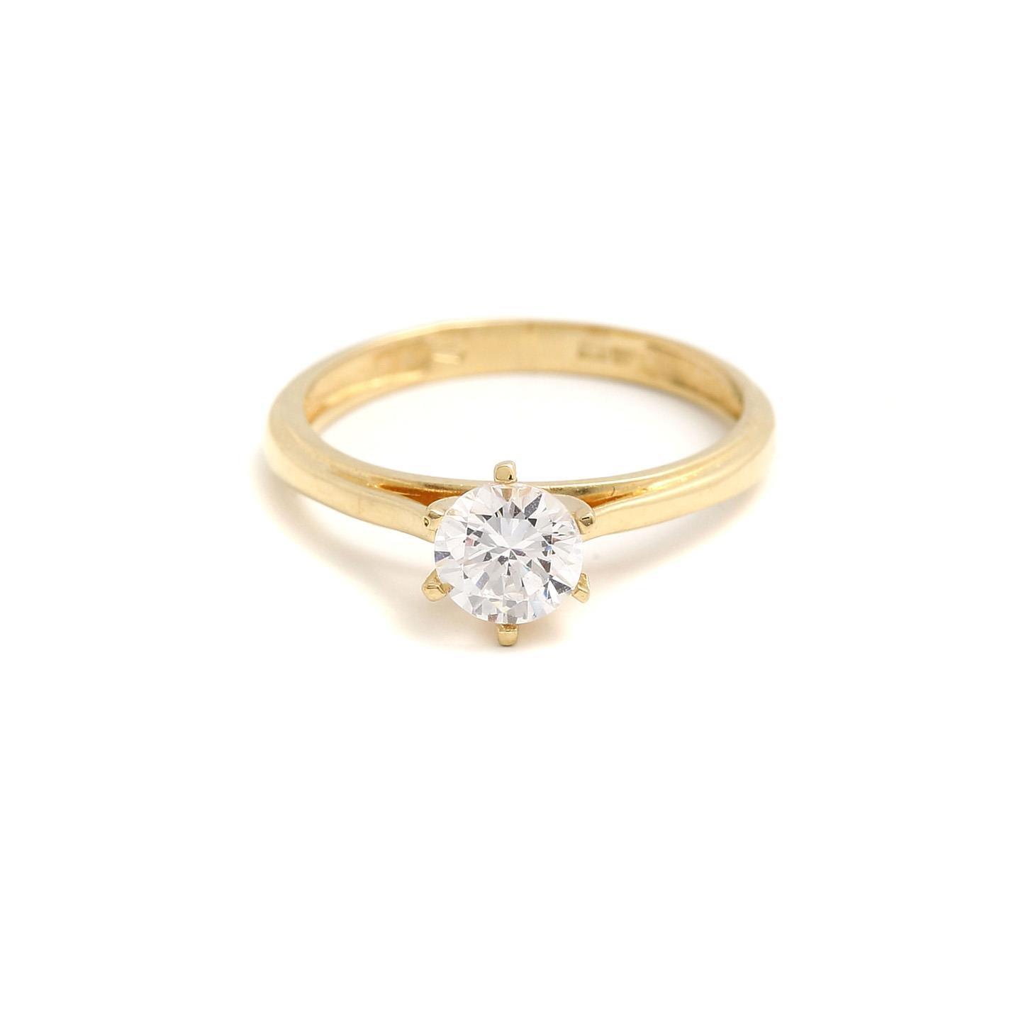 zlatý zásnubný prsteň clematis zlatý zásnubný prsteň clematis 1 ... 6eb498209a1