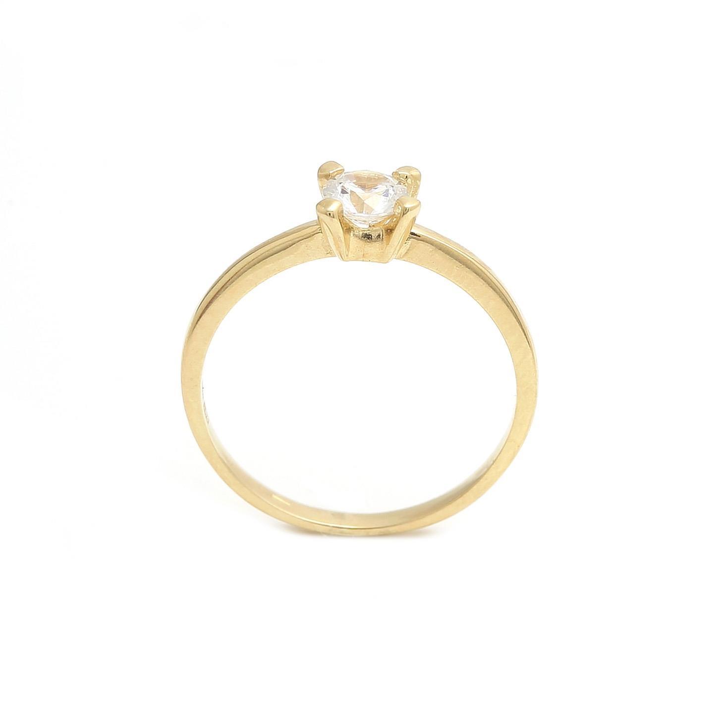 ... zlatý zásnubný prsteň daisy 2 ... 8a9c734793a