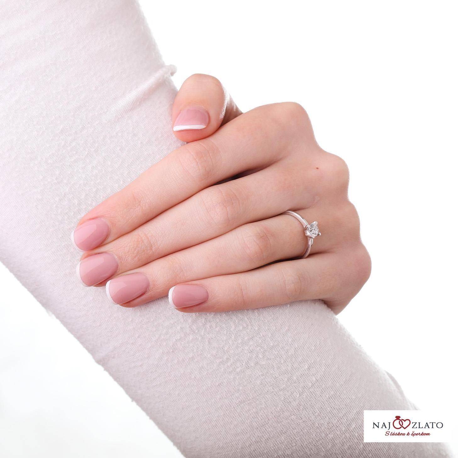 ... zlatý zásnubný prsteň daisy white 3 237e53ad8bb