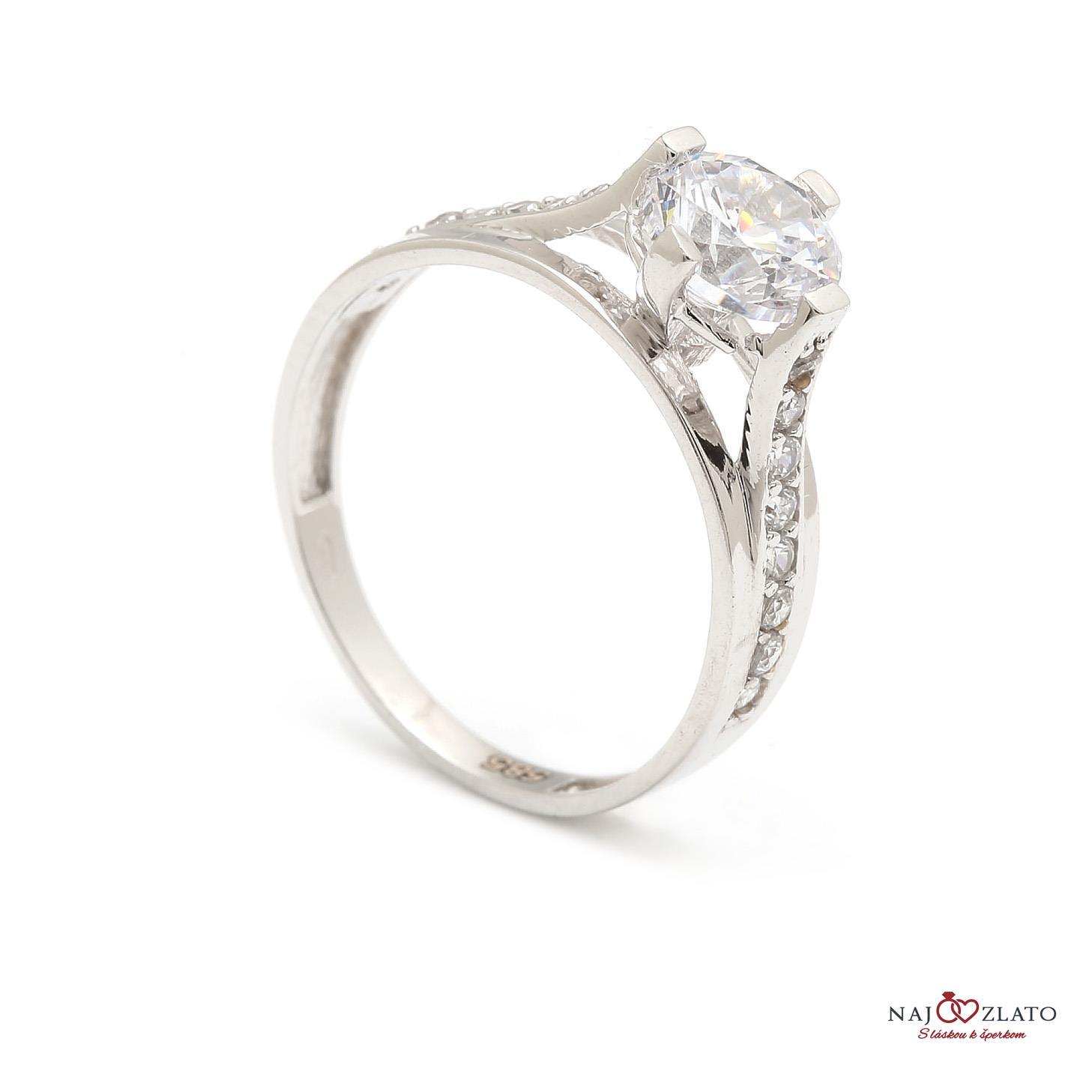 zlatý zásnubný prsteň doncia ... 1be501e574c