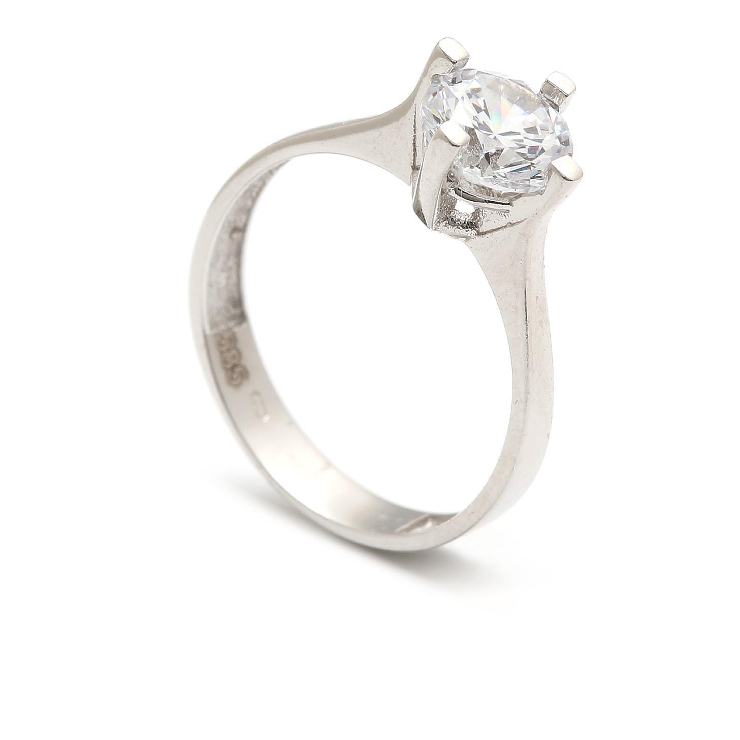 Zlatý zásnubný prsteň JUANITA 4PB00282  532a1861c11