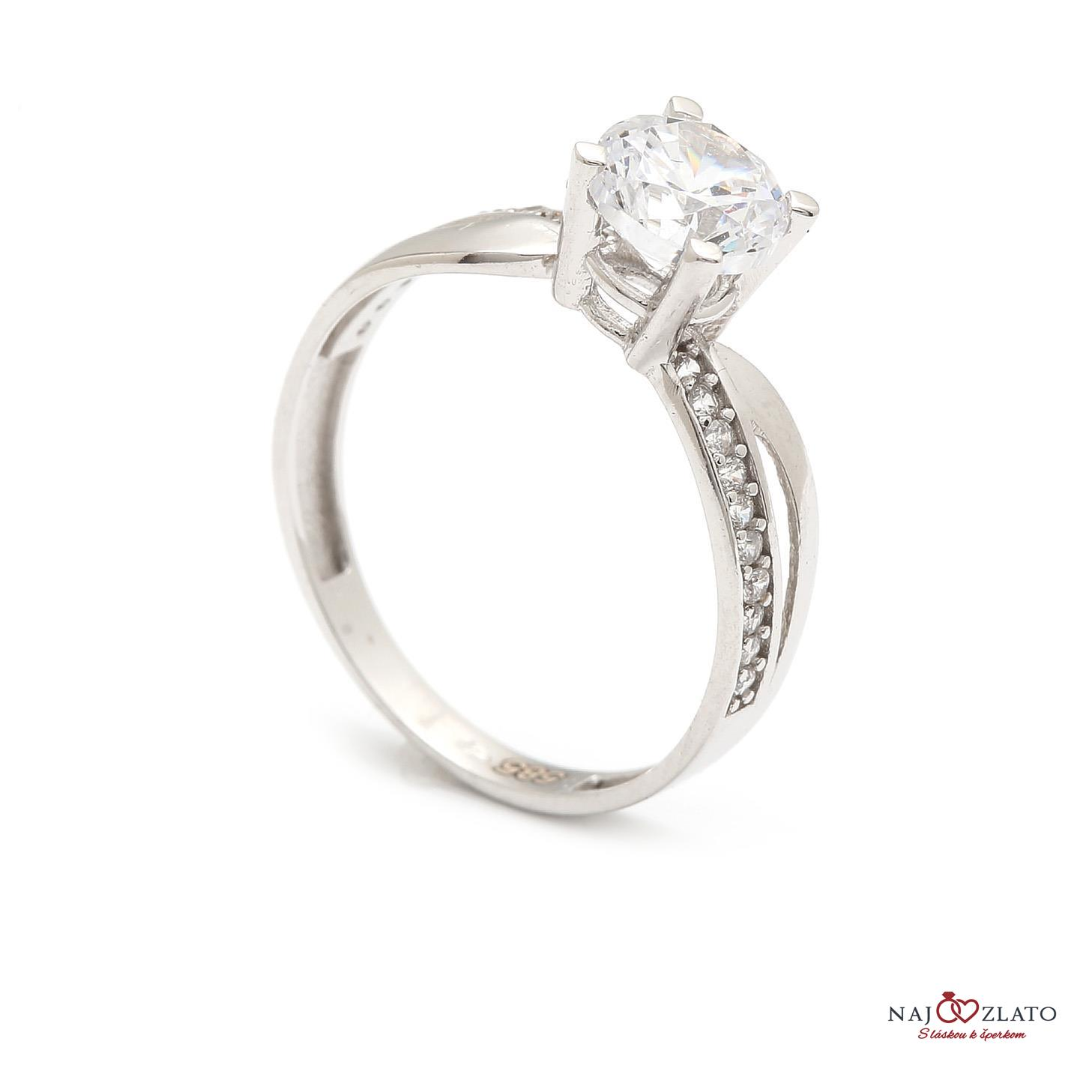 zlatý zásnubný prsteň karmelita ... 4ea74305160