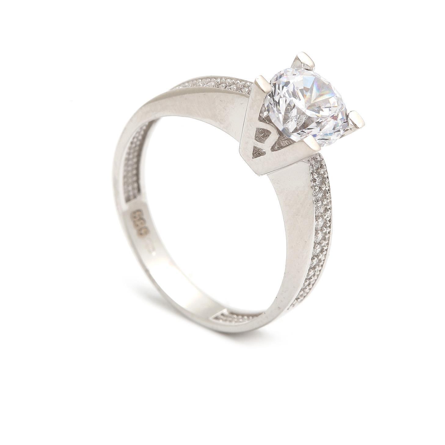 Zlatý zásnubný prsteň LONGINA c761b8f14fd