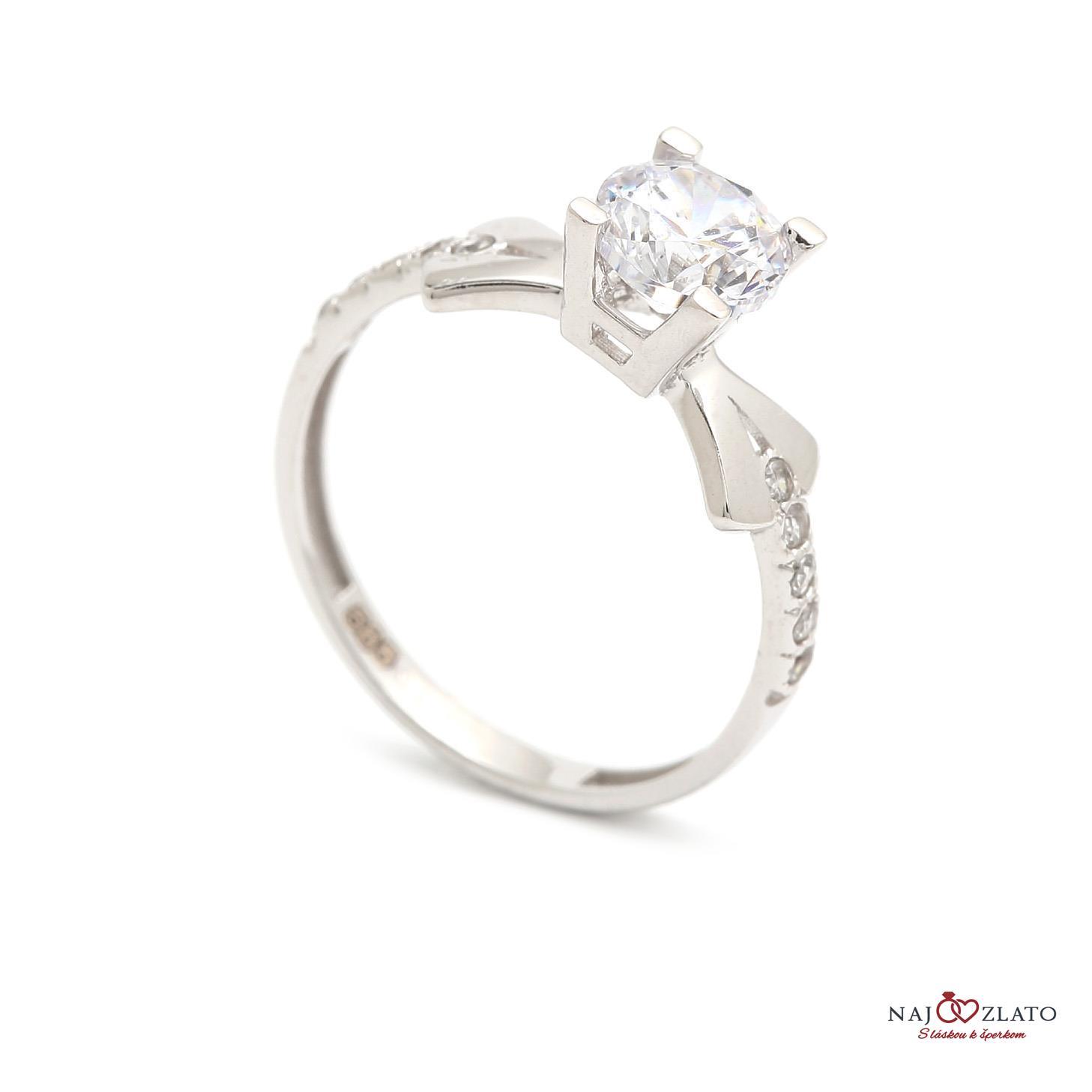 zlatý zásnubný prsteň shadi ... 247d5f41826