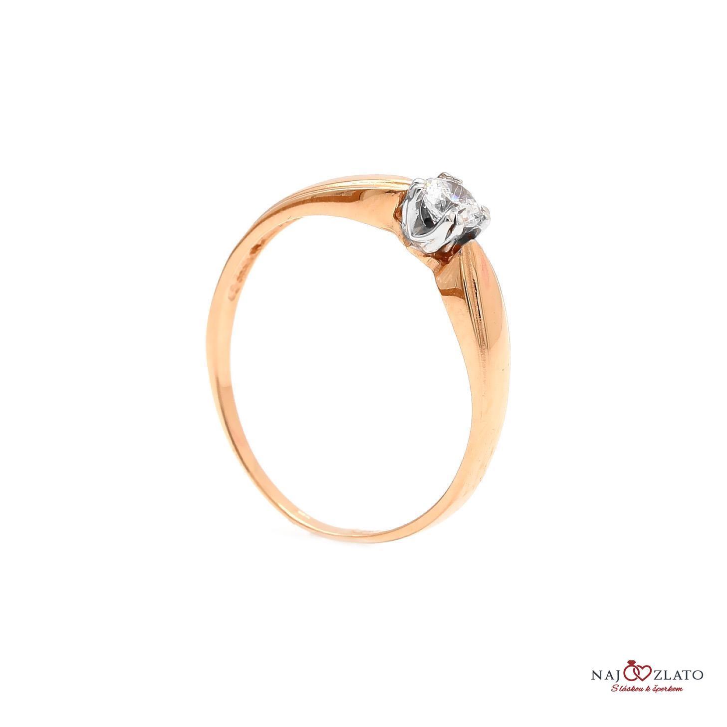 zlatý zásnubný prsteň syd ... 8d485d36198