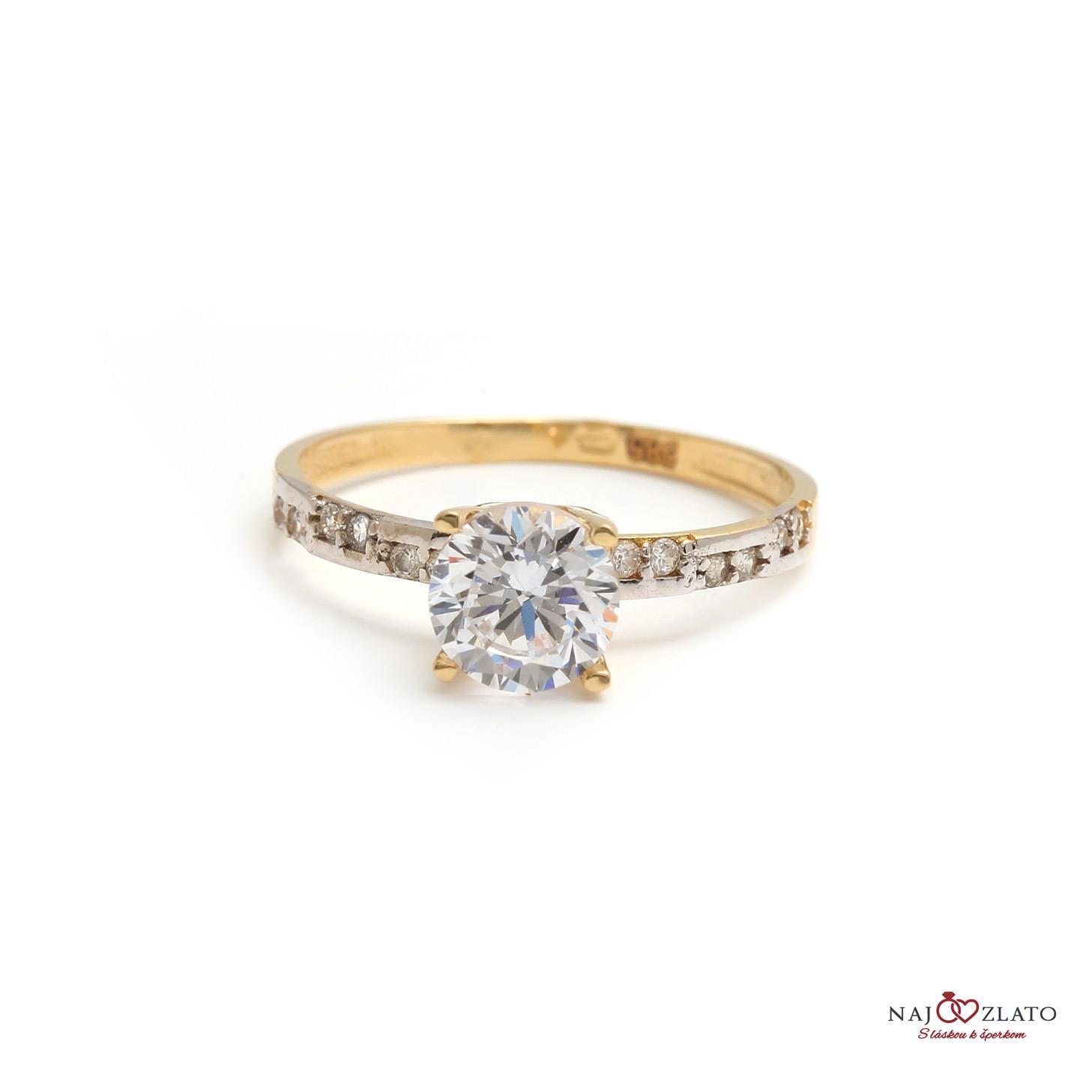 zlatý zásnubný prsteň tonia zlatý zásnubný prsteň tonia 1 ... bbbac20d117